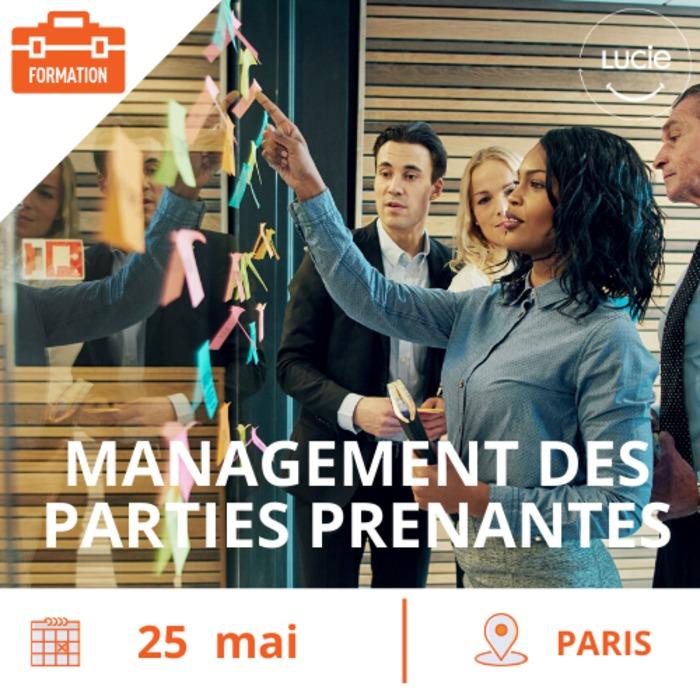 Formation : Management des parties  prenantes et démarches participatives