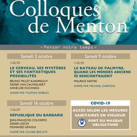 Menton - Les Colloques de Menton - Le cerveau, ses mystères et ses fantastiques possibilités