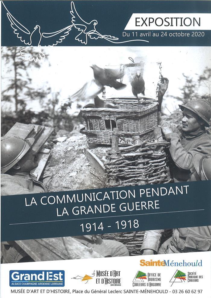Journées du patrimoine 2020 - Visite guidée de l'exposition «La communication pendant la grande guerre»