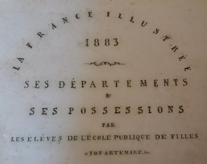 Journées du patrimoine 2019 - « Souvenirs d'école » : présentation d'un recueil scolaire du XIXe siècle