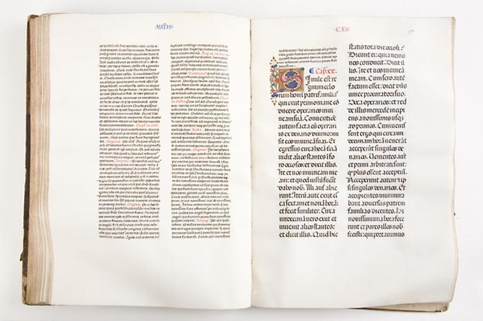 Journées du patrimoine 2019 - Conférence sur la restauration de manuscrits