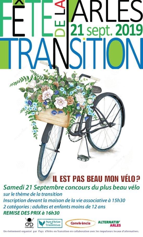 """Concours de vélos  customisés """"Transition"""""""