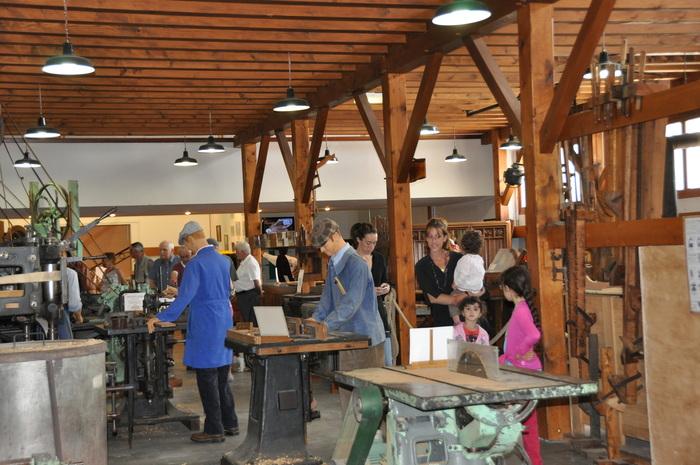 Journées du patrimoine 2019 - Visite libre du musée de la machine à bois.