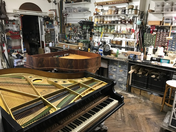 Journées du patrimoine 2019 - Visite libre des ateliers de restauration des pianos Balleron