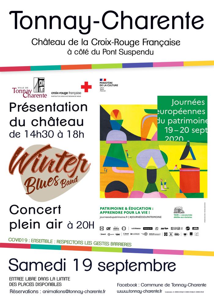 Journées du patrimoine 2020 - Concert au Château de la Croix-Rouge Française
