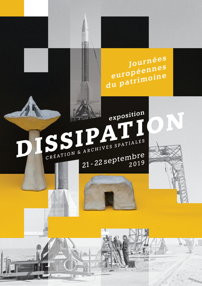 Journées du patrimoine 2019 - Dissipation : une exposition entre création et archives spatiales