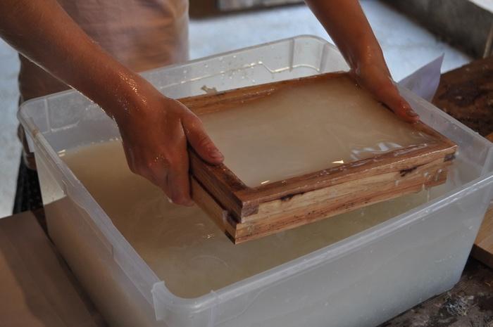 Journées du patrimoine 2020 - Atelier papier artisanal