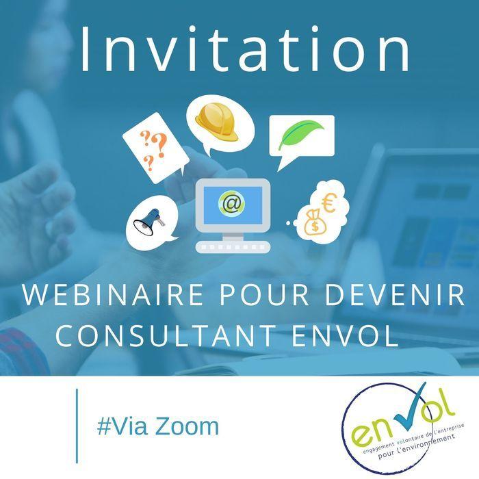Webinaire : devenir consultant EnVol