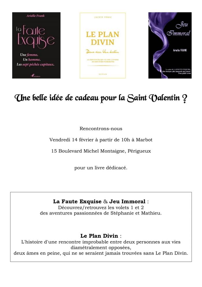Venez découvrir les 3 derniers romans de Jackie Peric - Arielle Frank Auteure