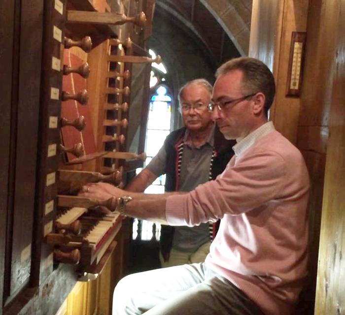 Journées du patrimoine 2020 - Présentation-Concert des orgues Le Helloco de la Basilique de Josselin