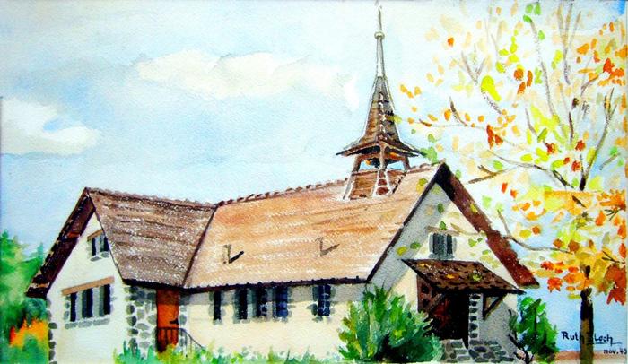 Journées du patrimoine 2020 - Visite libre - Temple de l'Église réformée