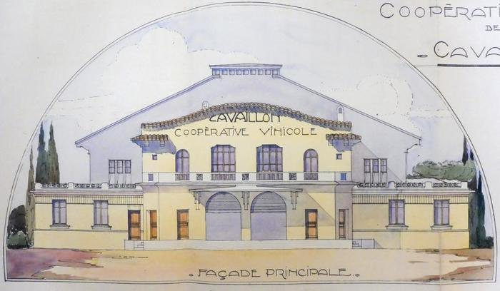 Journées du patrimoine 2020 - De la vigne au vin : la Cave coopérative des vignerons de Cavaillon (1924-1986).