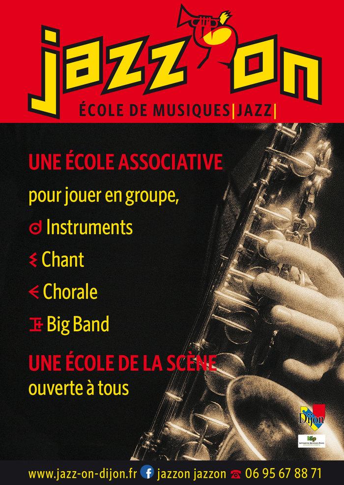 Fête de la musique 2019 - Jazz'On - Ensembles vocaux et instrumentaux de l'Ecole de Musique de Jazz de Dijon