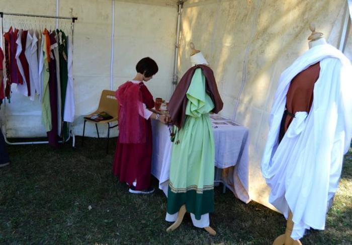 Journées du patrimoine 2019 - La vie quotidienne et le costume gallo-romain à la villa d'Antone