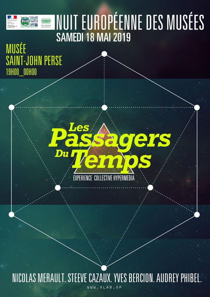Nuit des musées 2019 -Les passagers du temps, expérience collective hypermédia