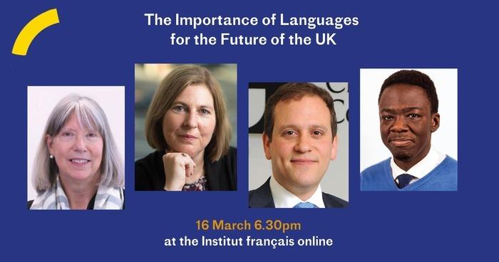 Table-ronde sur l'importance des langues pour l'avenir du Royaume-Uni et sur le rôle des langues dans les secteurs de l'économie, de la diplomatie, de la justice sociale, de la santé et de l'éducation