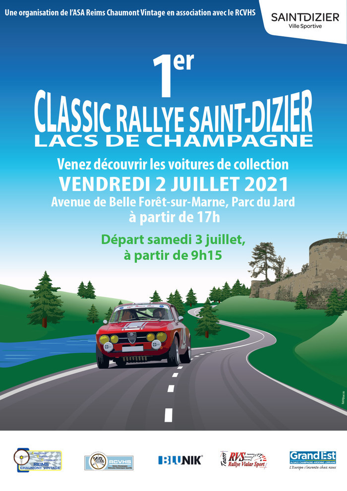 1er Classic Rallye Saint-Dizier Lacs de Champagne