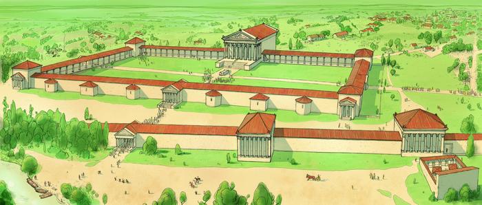 Journées du patrimoine 2020 - Visite guidée du sanctuaire gallo-romain