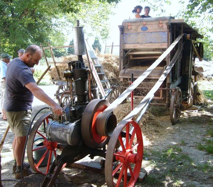 Journées du patrimoine 2019 - Exposition de machines agricoles