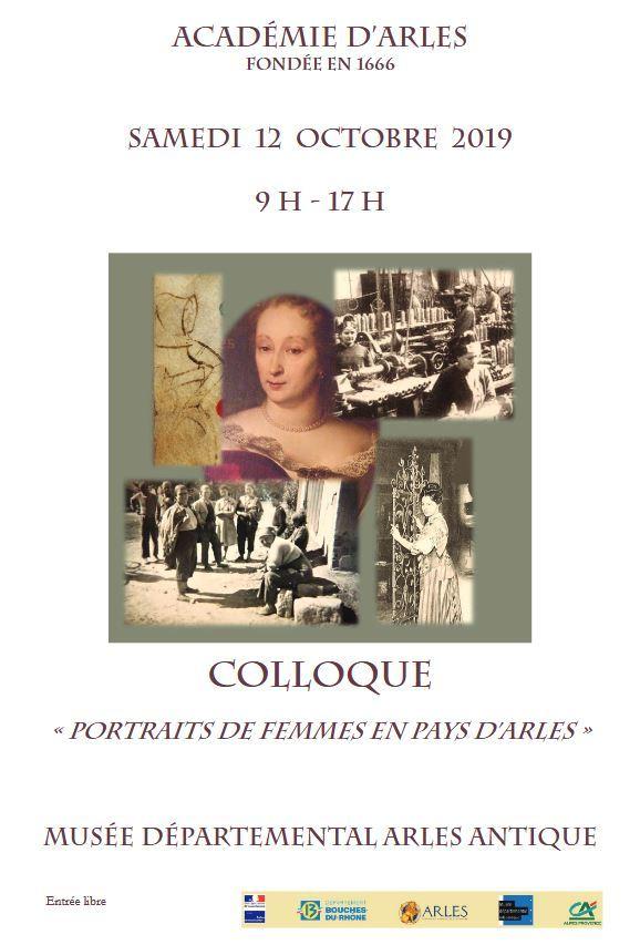 Colloque organisé par l'Académie d'Arles