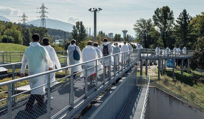 Journées du patrimoine 2020 - L'usine de dépollution des eaux usées de Chambéry