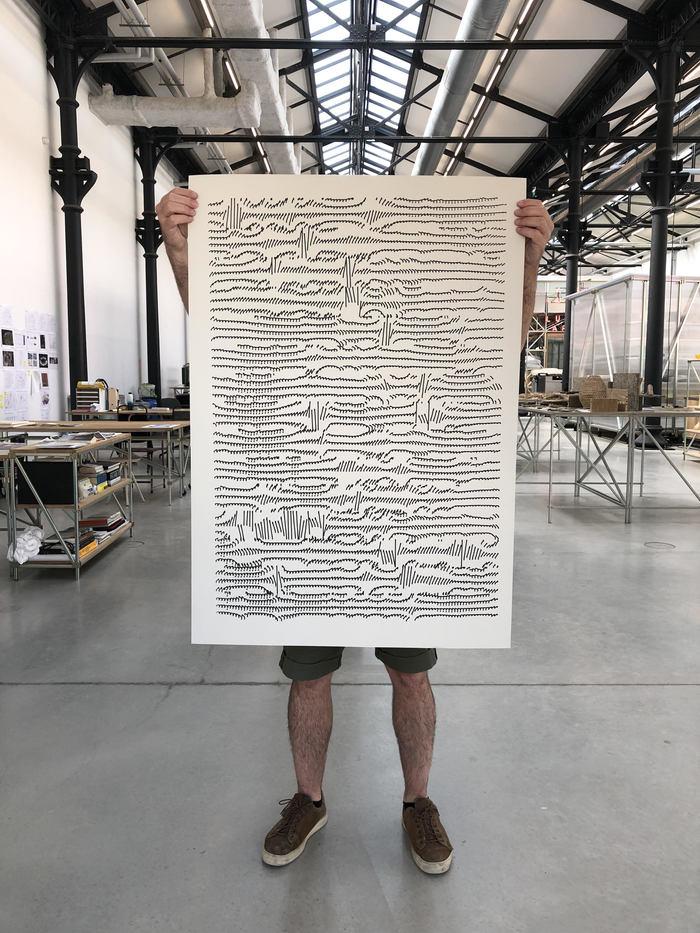 Julien Gachadoat expose «LIGNES»