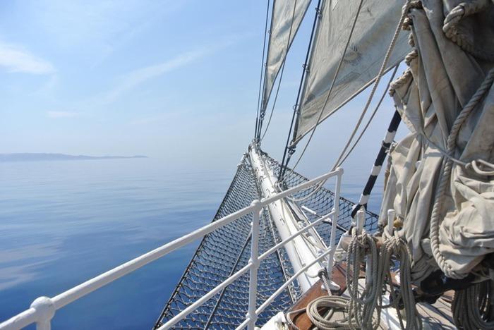 Escale du voilier Le Belem