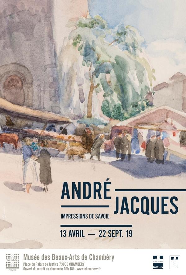 Nuit des musées 2019 -Visite flash - Exposition André Jacques - Impressions de Savoie