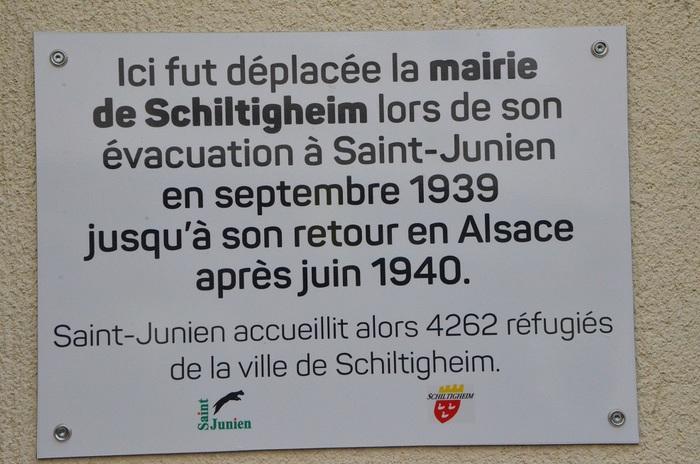 Journées du patrimoine 2019 - L'évacuation de Schiltigheim