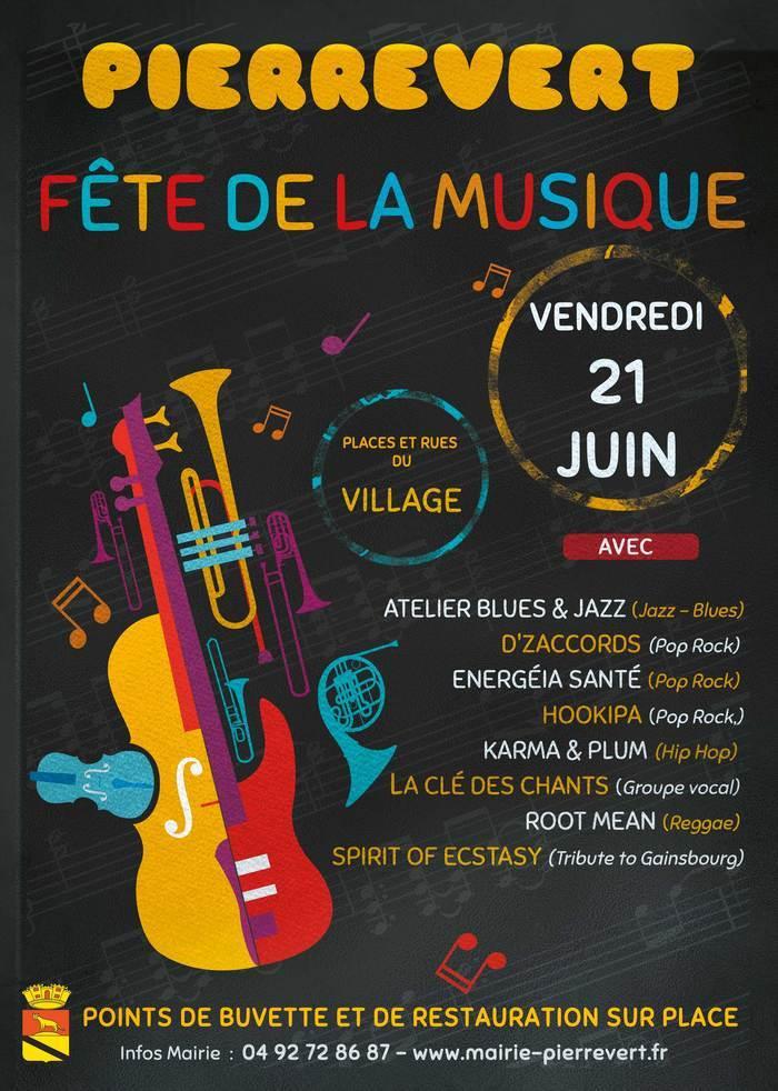 Fête de la musique 2019 - Energéia Santé - Spirit of Ecstasy (Tribute to Gainsbourg)