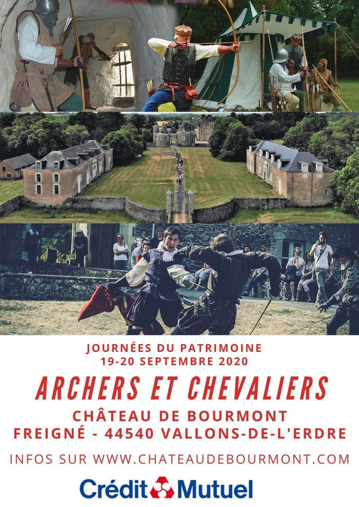Journées du patrimoine 2020 - Archers et chevaliers