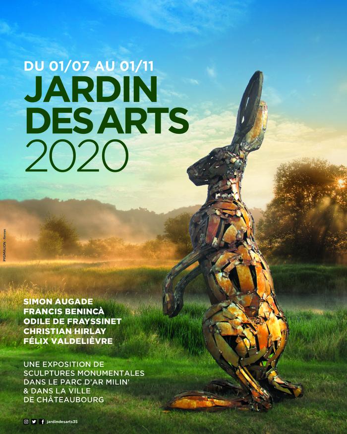 Journées du patrimoine 2020 - Jardin des Arts, Exposition d'art monumental