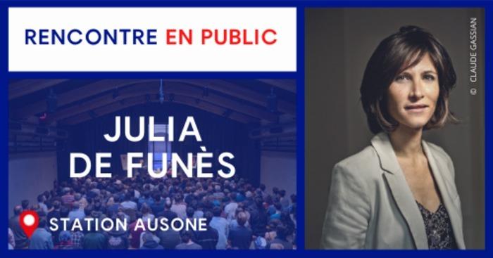 Rencontre avec Julia de Funès
