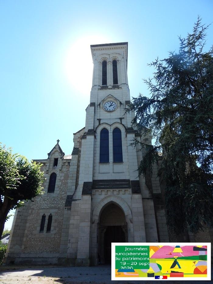 Journées du patrimoine 2020 - Eglise Saint-Jean-l'Evangéliste et de la cloche russe