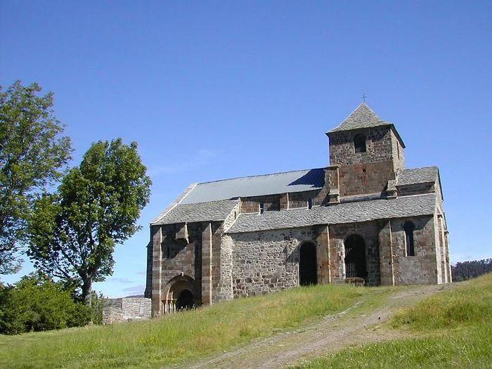 Journées du patrimoine 2020 - Visites de l'église de Bredons, Site rattaché à la fédération des sites clunisiens