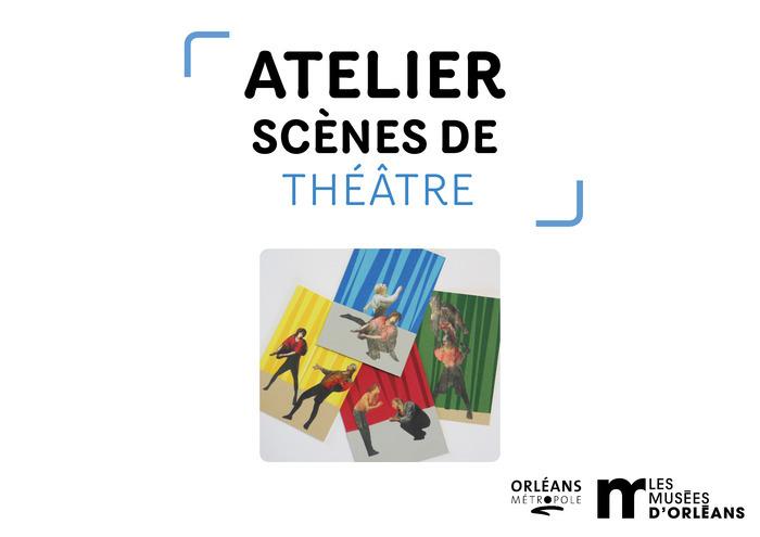 Découvre, découpe, associe, colle et crée de drôles de personnages autour des collections du musée des Beaux-Arts d'Orléans !