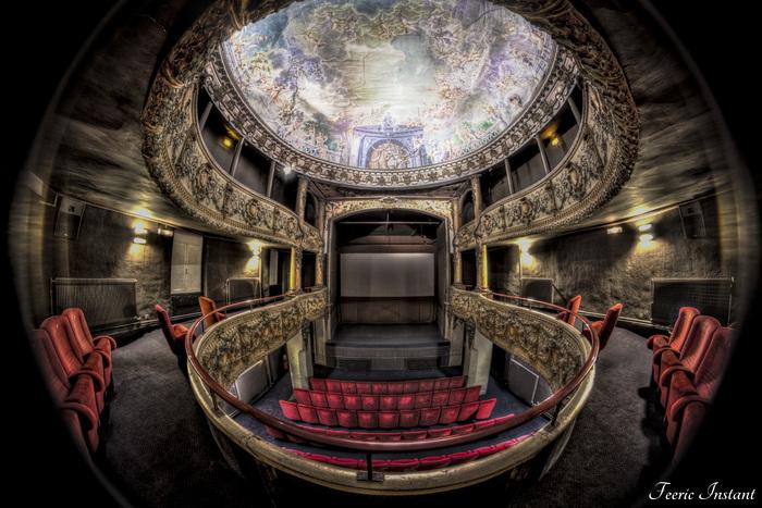 Journées du patrimoine 2020 - Centre Historique de Neufchâteau : l'ancien théâtre-cinéma Le Scala