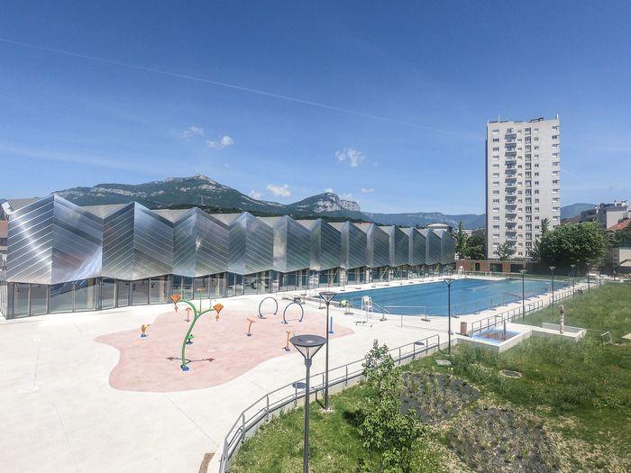 Journées du patrimoine 2020 - La piscine aqualudique du Stade à Chambéry