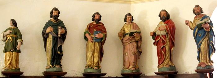 Journées du patrimoine 2019 - Visite guidée gratuite de l'église avec son rare ensemble de 15 sculptures du XVIIème siècle
