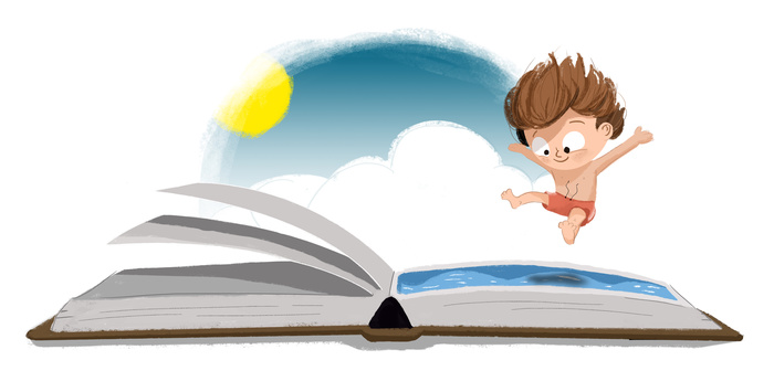 Lecture d'histoires pour les tous petits enfants  (1-3 ans).