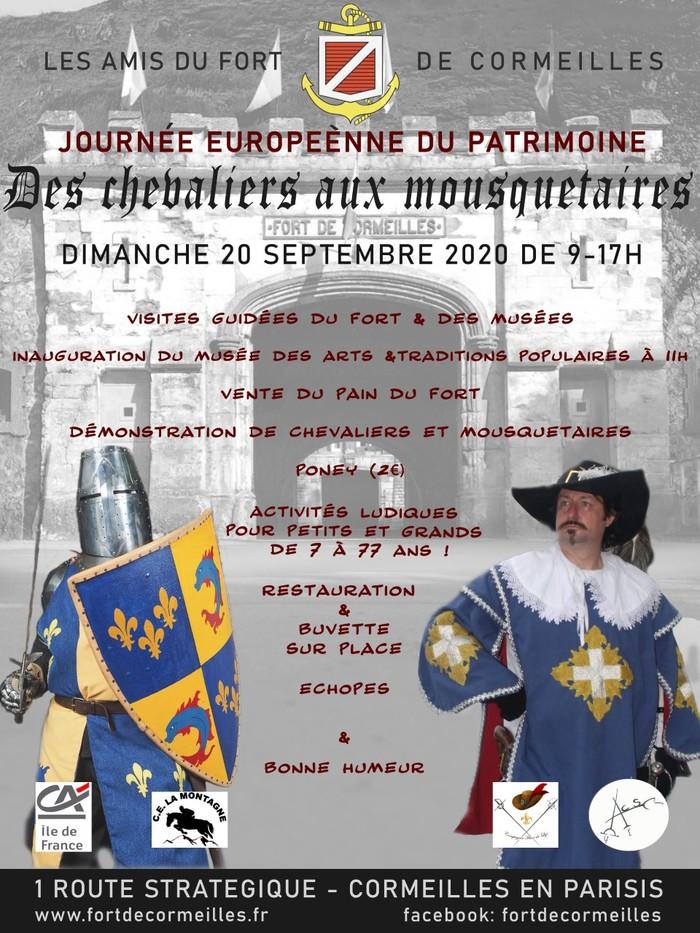 Journées du patrimoine 2020 - Des chevaliers aux mousquetaires
