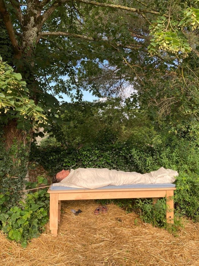 Soul Tree de Olivier Raud  à Lahitte-Toupière pour se connecter aux arbres