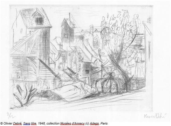 Nuit des musées 2019 -Découvertes des gravures d'Olivier Debré