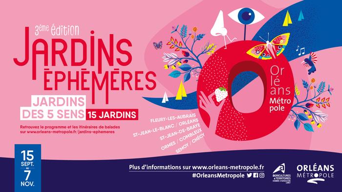 Pour cette troisième édition, 15 jardins éphémères ont été installés dans la métropole. Venez découvrir les 7 jardins éphémères situés dans Orléans