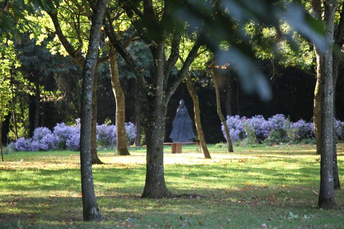 Journées du patrimoine 2019 - Visite guidée du Jardin des sculptures, château de Bois-Guilbert