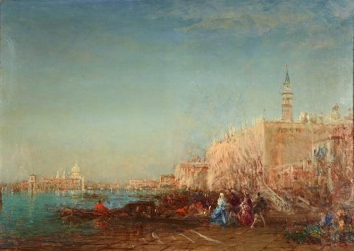 Journées du patrimoine 2020 - Visite : Félix Ziem, peintre nomade, de Beaune à Venise