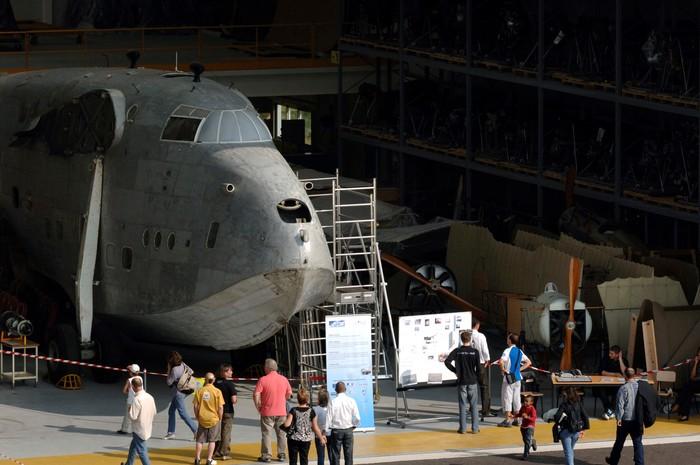 Journées du patrimoine 2020 - Visite guidée des ateliers de restauration du musée de l'Air et de l'Espace