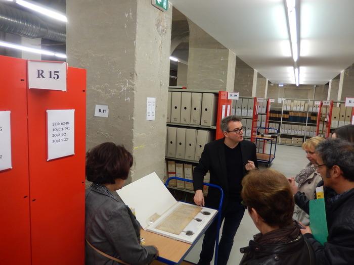 Journées du patrimoine 2019 - Découverte des magasins d'archives