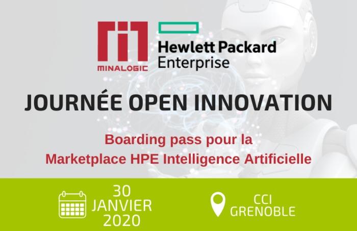 Journée Open Innovation avec HPE