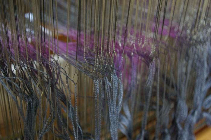 Journées du patrimoine 2020 - Démonstration de tissage et échange avec le public !